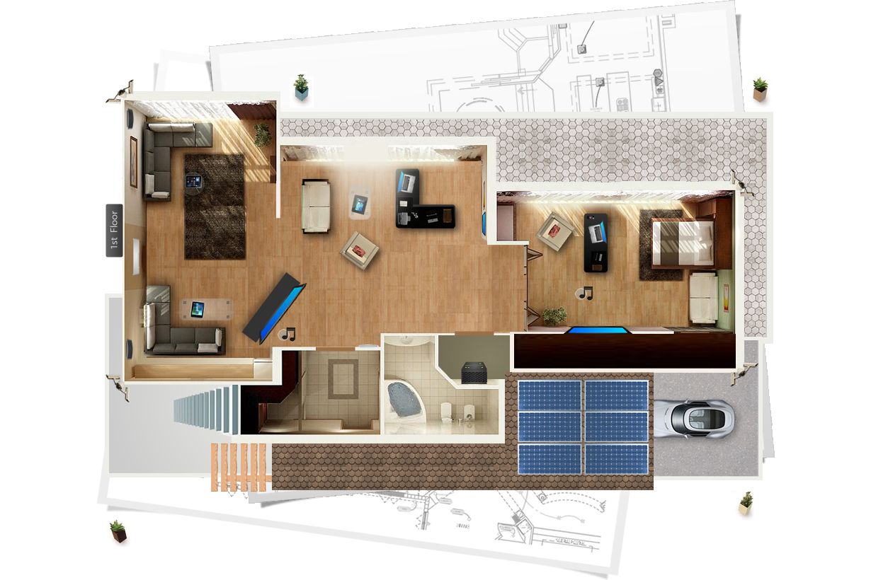 Our Smart Home Layout For Your California Project